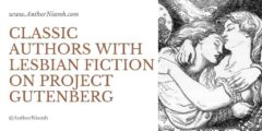 Classic Authors with Lesbian Fiction on Project Gutenberg